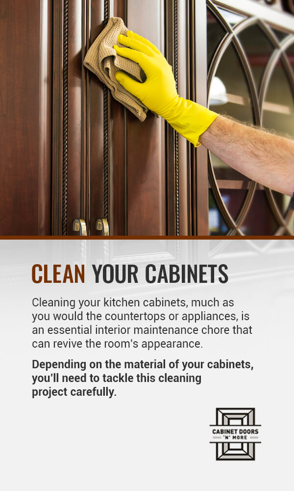 CLEAN YOUR CABINETS