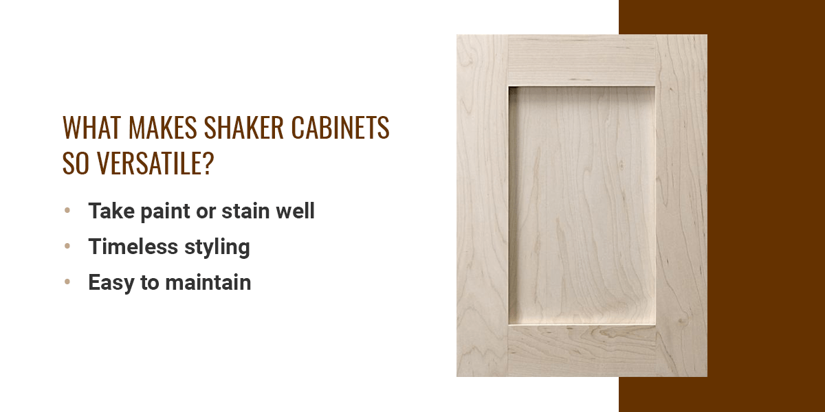 What Makes Shaker Cabinets So Versatile?