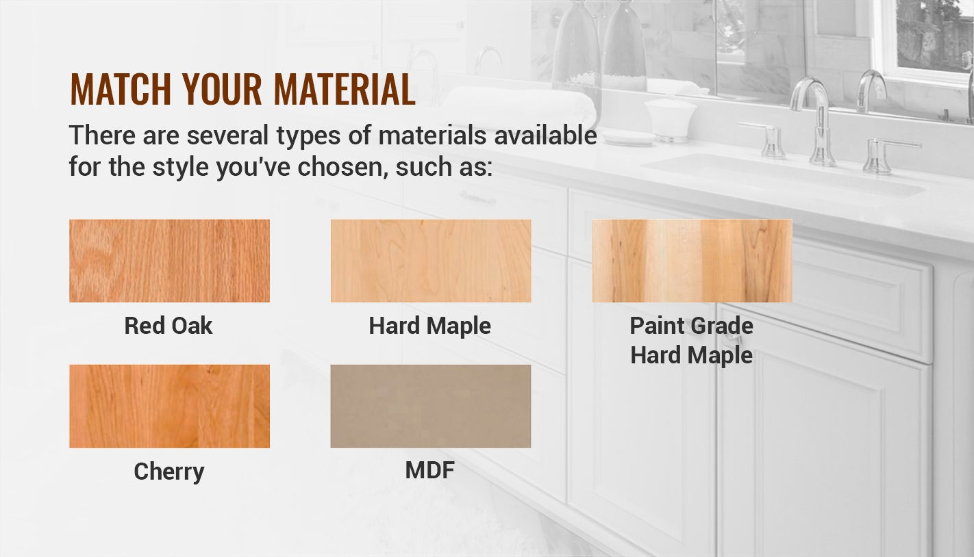 STEP 4: MATCH YOUR MATERIAL