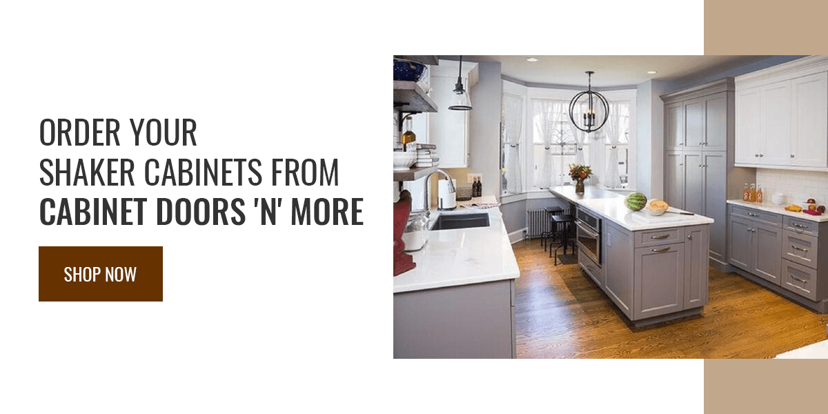 Order Your Shaker Cabinets From Cabinet Doors 'N' More