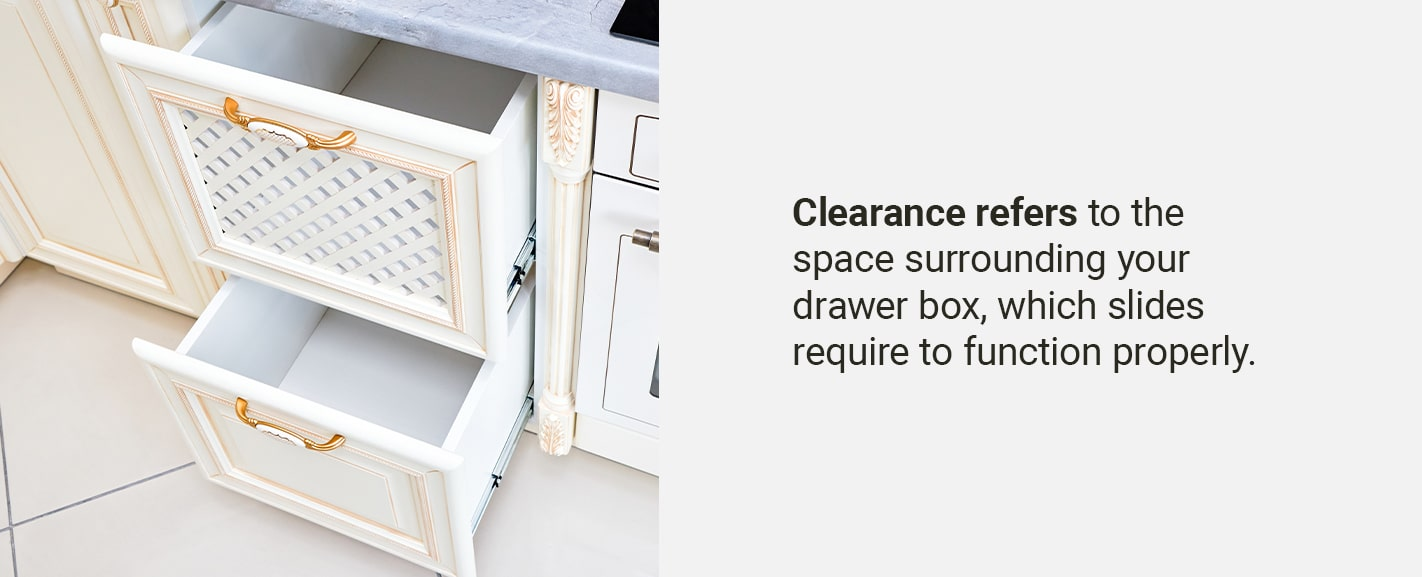 REQUIRED CLEARANCE