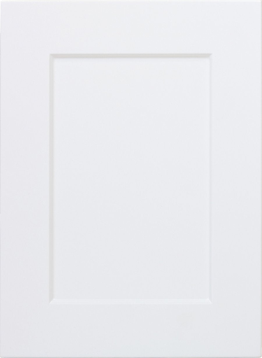 Replacement White RTF Shaker Cabinet Door