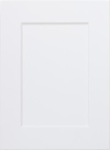 Naples White RTF Shaker Kitchen Cabinet Door