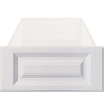 replacement white rtf raised square cabinet drawer front