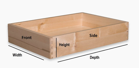 replacement drawer box