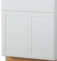 white replacement cabinet doors