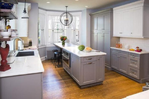 white shaker kitchen cabinet doors