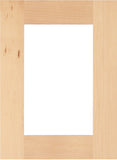 solid wood 1 lite mullion cabinet door