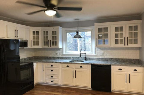 Glass Front Cabinet Doors A Welcome Addition To Any Kitchen