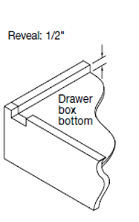 "Replacement Cabinet Drawer Box (9"" Height) - Cabinet Doors 'N' More"