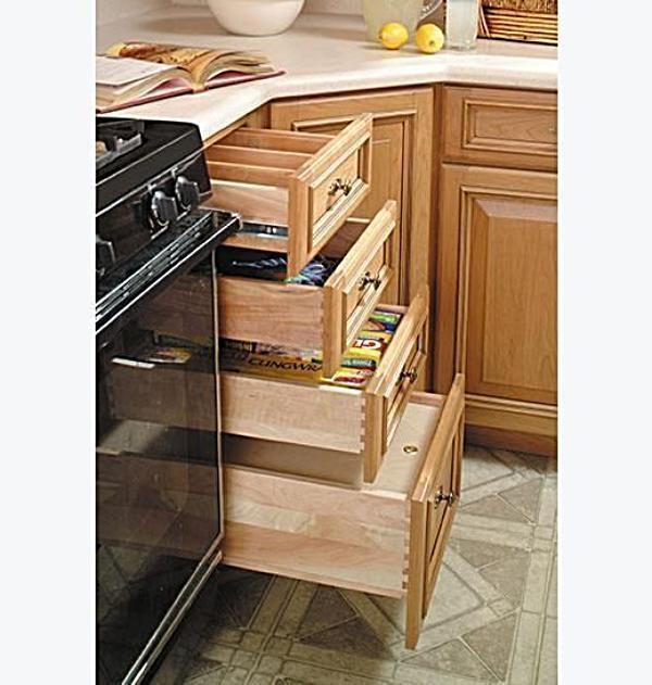 Replacement Drawers For Kitchen Cabinets