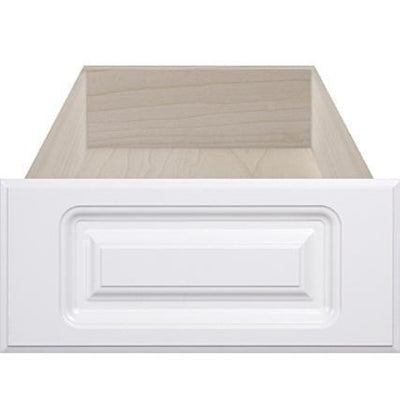 Naples White RTF Raised Square Custom Cabinet Drawer Front - Cabinet Doors 'N' More