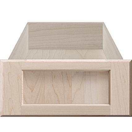 Replacement Wood Recess Panel Cabinet Drawer Front