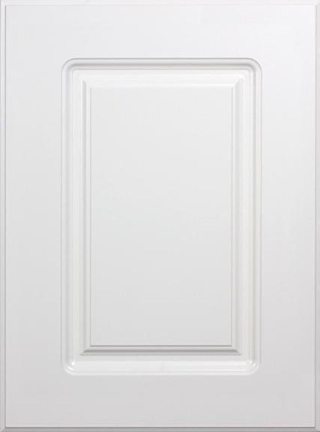 Replacement White RTF Raised Square Cabinet Door