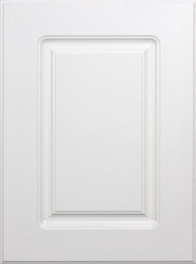 Naples White RTF Raised Square Custom Cabinet Door - Cabinet Doors 'N' More