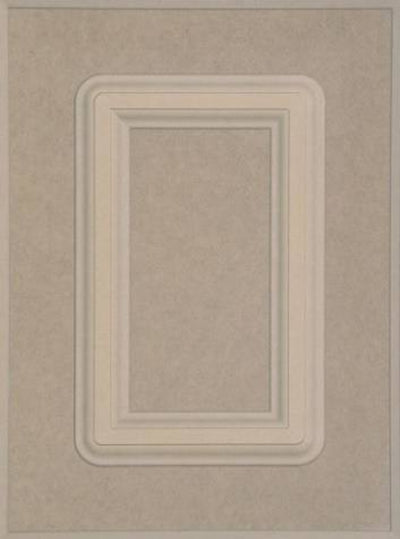 Naples MDF (Medium Density Fiberboard) Raised Square Custom Cabinet Doors Cabinet Door - Cabinet Doors 'N' More