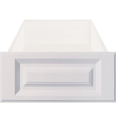 Daytona White RTF Raised Square Custom Cabinet Drawer Fronts - Cabinet Doors 'N' More