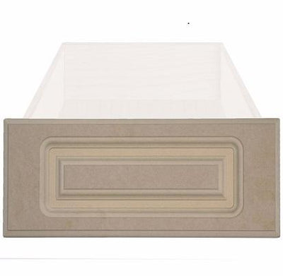 Naples Raised Square Custom Cabinet Drawer Fronts Drawer Front Cabinet Doors 'N' More MDF (Medium Density Fiberboard)