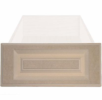 Daytona Raised Square Custom Cabinet Drawer Fronts Drawer Front Cabinet Doors 'N' More MDF (Medium Density Fiberboard)