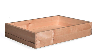 "Replacement Cabinet Drawer Box - 4 1/2"" Height Natural Birch Drawer Box Cabinet Doors 'N' More"