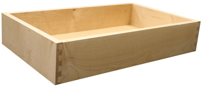 "Replacement Cabinet Drawer Box - 2"" Height Drawer Box Cabinet Doors 'N' More Premium Maple"