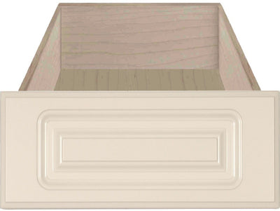 Naples Raised Square Custom Cabinet Drawer Fronts Drawer Front Cabinet Doors 'N' More Antique White RTF