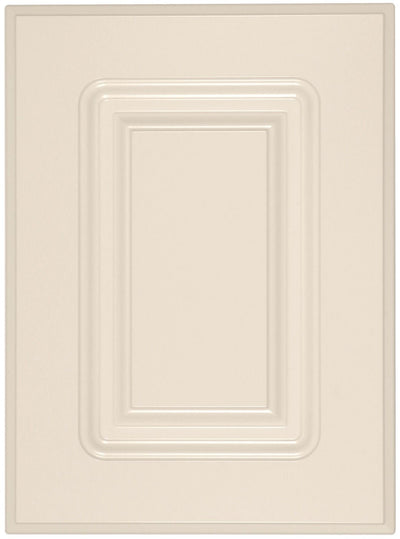 Naples Raised Square Custom Cabinet Doors Cabinet Door Cabinet Doors 'N' More Antique White RTF