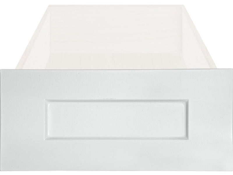 Replacement White RTF Shaker Cabinet Drawer Front