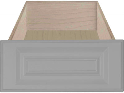 Daytona Smoke Grey RTF Raised Square Custom Cabinet Drawer Fronts - Cabinet Doors 'N' More