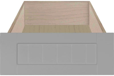 Marathon Beaded Shaker Custom Cabinet Drawer Fronts Drawer Front Cabinet Doors 'N' More Smoke Grey RTF