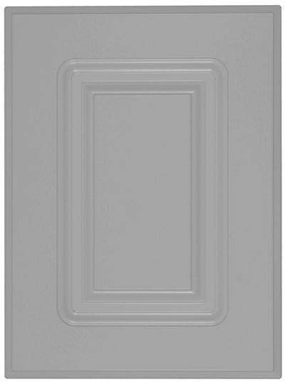 Naples Raised Square Custom Cabinet Doors Cabinet Door Cabinet Doors 'N' More Smoke Grey RTF