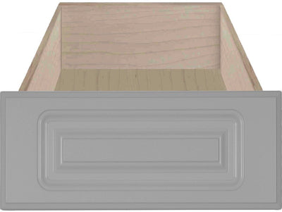 Naples Raised Square Custom Cabinet Drawer Fronts Drawer Front Cabinet Doors 'N' More Smoke Grey RTF