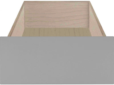 Venice RTF Shaker Slab Custom Cabinet Drawer Fronts Drawer Front Cabinet Doors 'N' More Smoke Grey RTF
