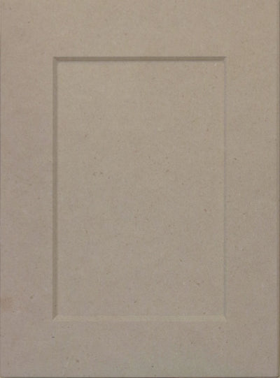 Naples White RTF Shaker Custom Cabinet Door Cabinet Door Cabinet Doors 'N' More MDF (Medium Density Fiberboard)