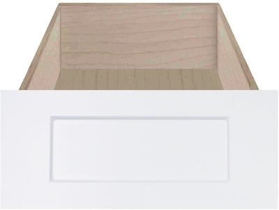 Boca Thermofoil Shaker Custom Cabinet Drawer Fronts Drawer Front Cabinet Doors 'N' More White RTF
