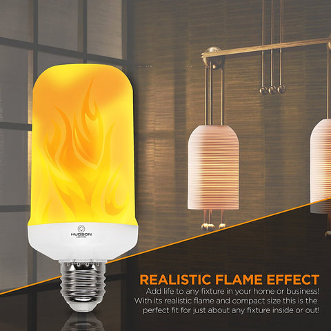 LED Flame Effect - Standard Base