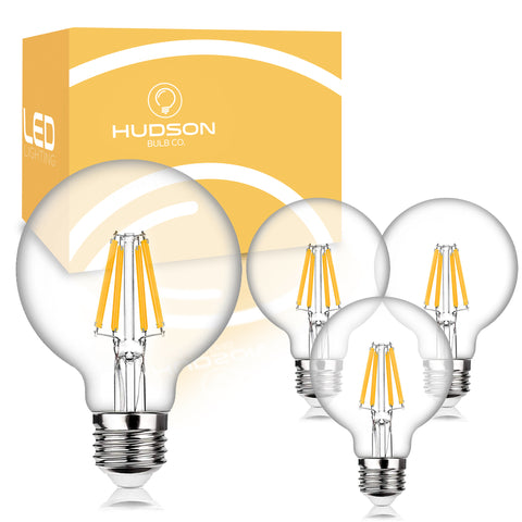 Dimmable G25 LED Bulbs - 3000K Soft White