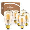 Image of Dimmable LED Edison Bulbs - 2200K Amber Warm