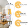 Image of 6 Pack Dimmable LED Edison Bulbs - 2700K Soft White