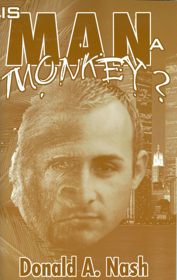 Is Man a Monkey?