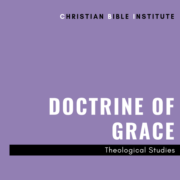 CBI: Doctrine of Grace