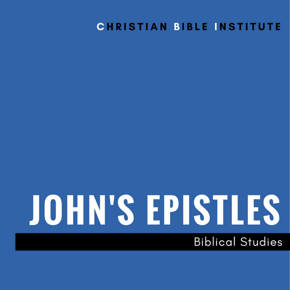 John's Epistles  Biblical Studies Online Course