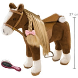 Pony Brown Beauty to brush and style