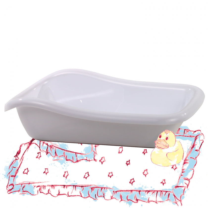Bath tub white size S/M