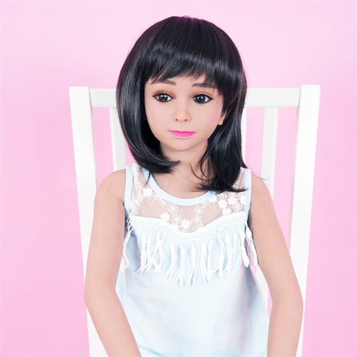 128cm flat Chested Mini Love Doll – Molly