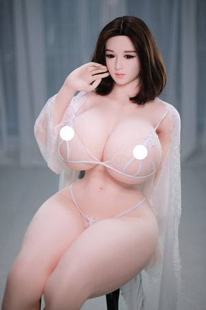 159cm Chubby Fat Ass Sex Doll  BBW Real Doll - Anna JY Doll