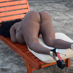 165cm Chubby African Sex Doll Big Boobs Fat Ass - Frances 6Ye Doll