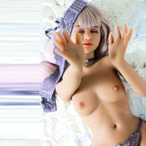 140cm Closed Eyes Realistic Petite Sex Doll - Enid SY Doll
