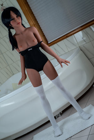 140cm Realistic Sex Love Doll Small Breasts - Nelly WM Dolls