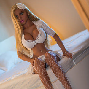 155cm Big Boobs Sex Doll Small Waist Love Doll - Hilda WM Dolls